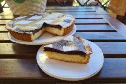 Crostata morbida crema e cioccolato